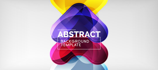 Techno lines, hi-tech futuristic abstract background template with arrow shapes Wall mural
