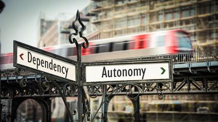 Sign 374 - Autonomy