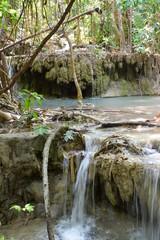 Wodospady Erawan, Tajlandia azja