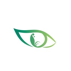 eye leaf logo