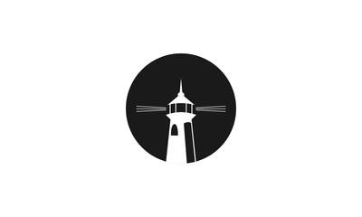 Mercusuar silhouette icon