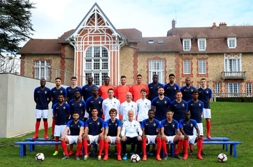 Euro 2020 Qualifier - France - Official France Team Picture