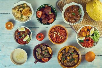 Moroccan Arab cuisine