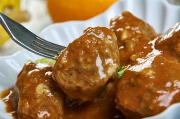 Moroccan Sardine Balls in Spicy Tomato Sauce