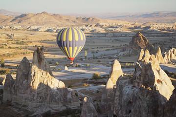 Hot air balloon in Cappadocia.