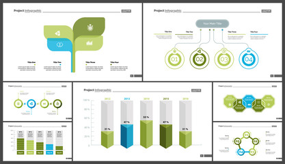 Creative business infographic design for development concept