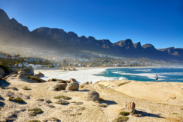 Wonderfull view of Camps bay, Cape town
