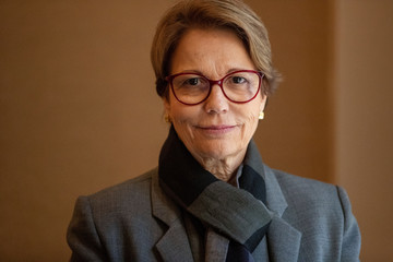Brazilian Agriculture Minister Tereza Cristina Dias poses for a picture following an interview in New York