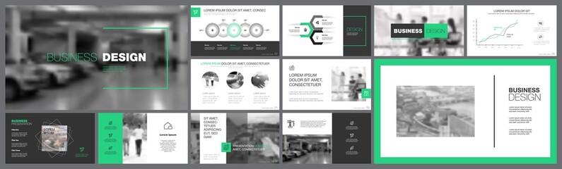 Fifteen Analytics Slide Templates Set