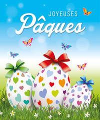 Joyeuses Pâques, œufs de Pâques-8