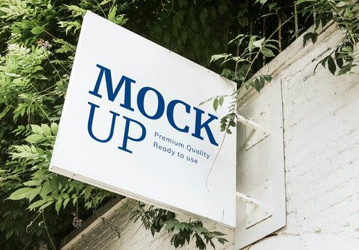 Storefront Sign Mockup
