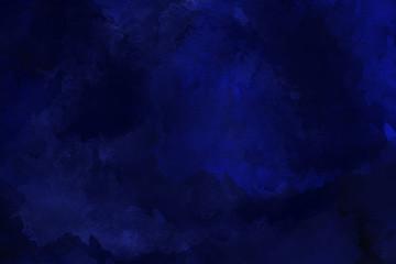 dunkelblaues Wasserfarben Hintergrund Gemälde