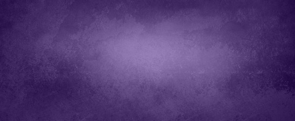 Dark purple background with old distressed peeling paint grunge on vintage metal or stone texture