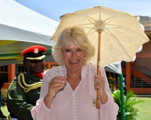 Britain's Prince Charles and Camilla, Duchess of Cornwall Caribbean tour