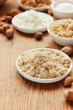 Nussmehl Nussmehle ohne Gluten Mehl Alternative