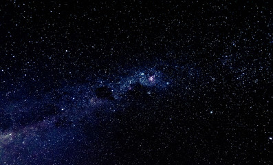 Sky photo of milky way and galaxy.