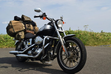 オートバイ 旅仕様