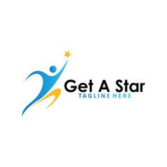get a star logo