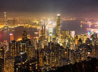 世界三大夜景 香港 ビクトリア・ハーバー