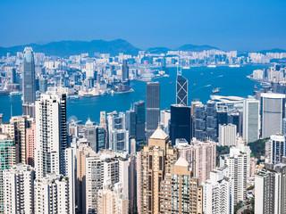香港 ビクトリア・ハーバー