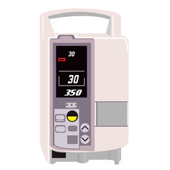 Illustration of a Infusion pump