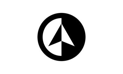 North Arrow Simple Logo
