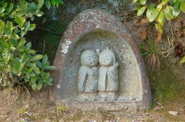 京都嵯峨野のお地蔵