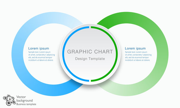 Business Chart design, Infographics Vector Background
