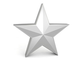 star silver grey gray