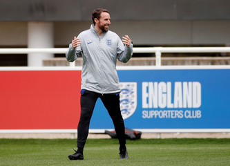 Euro 2020 Qualifier - England Training