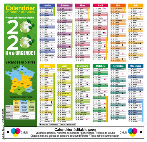 Semaines Calendrier 2020.Calendrier 2020 Editable 04 Stock Image And Royalty Free