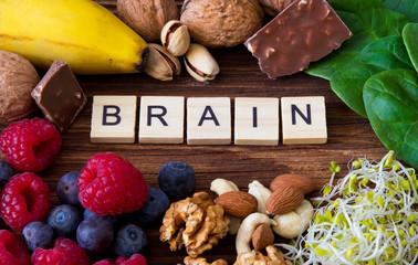 Brain nutrition Wall mural