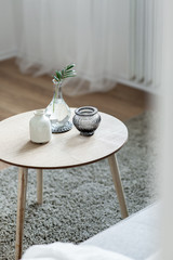 Scandinavian style coffee table