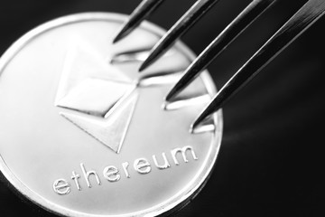 ethereum crytocurrency coin under the fork