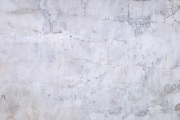 old white painted concrete wall
