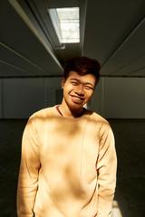Cheerful Vietnamese guy