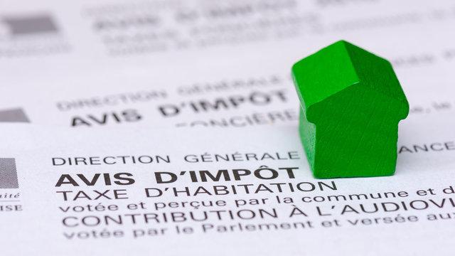 Avis d'impôt taxe d'habitation, France