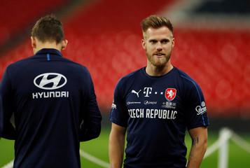 Euro 2020 Qualifier - Czech Republic Training