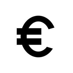Euro symbol icon.
