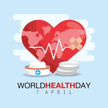 heartbeat with drugs to world health day