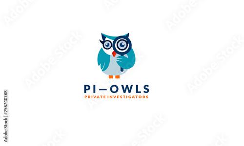 Detective owl logo
