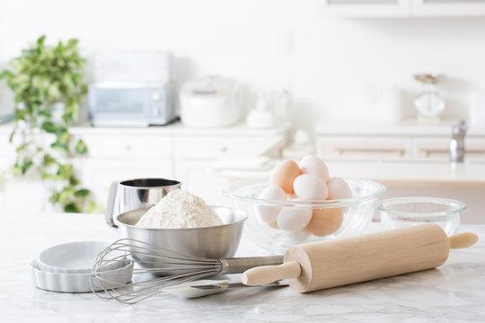 キッチンの背景、製菓、製パン