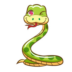 snake vector graphic