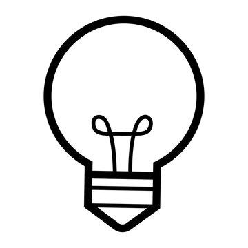 light buld idea cartoon