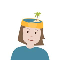 Urlaub im Kopf