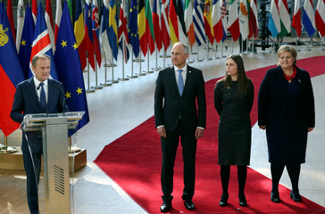 European Union leaders summit in Brussels