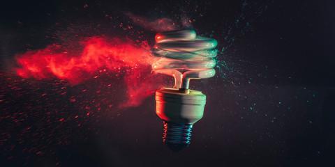 low-consumption light bulb shot
