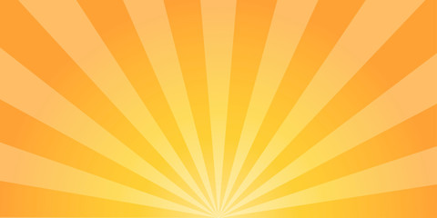 Sun burst background. Sun rays background. Retro abstraction. Comic design. Sunrise Sunset. vector