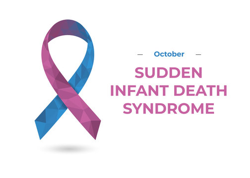 Sudden Infant Death Syndrome Awareness ribbon web