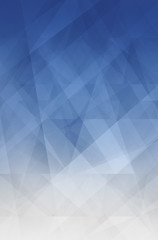 abstract blue and white background with modern geometric pattern design with glass texture